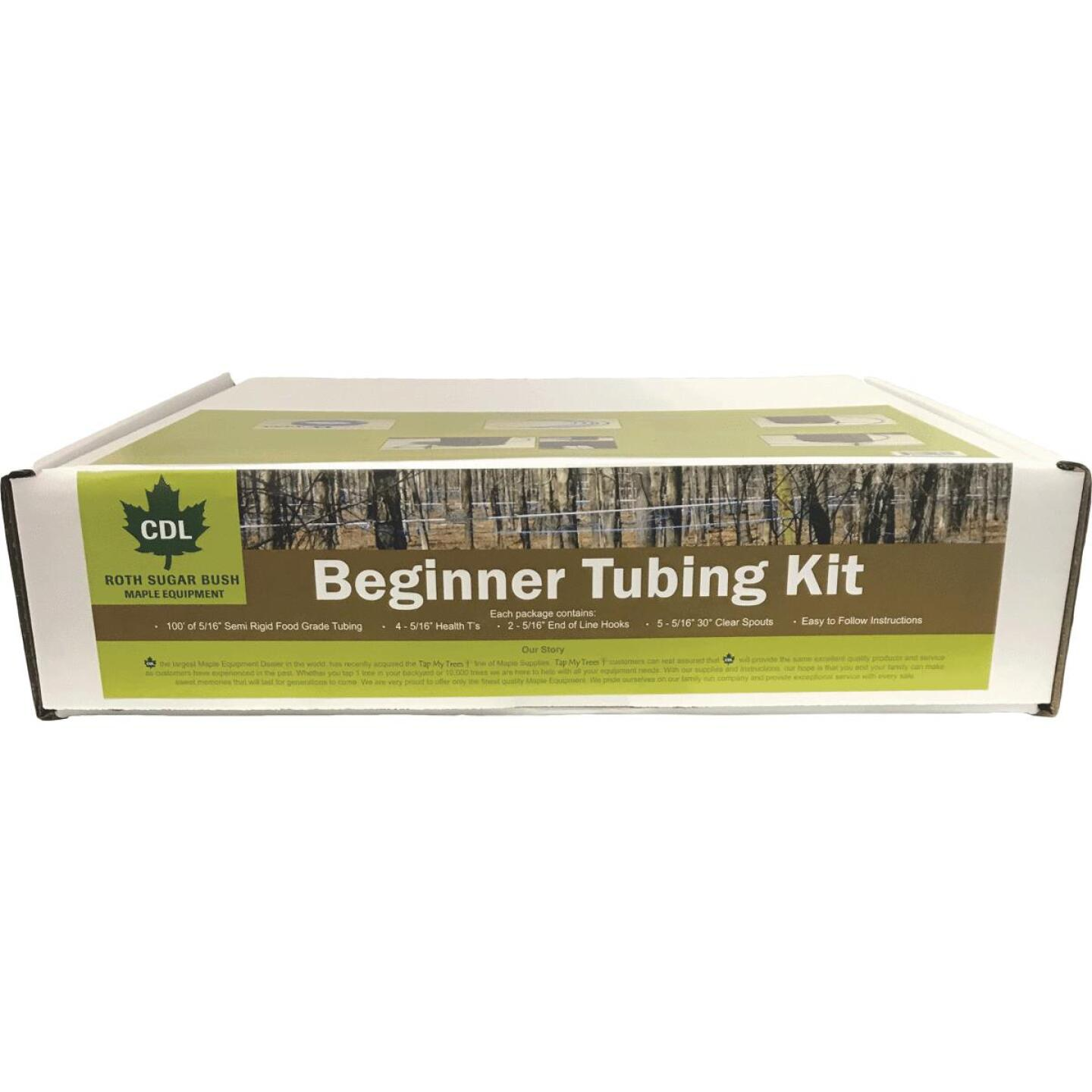 CDL 5-Tap Maple Sap Beginner Tubing Kit Image 2