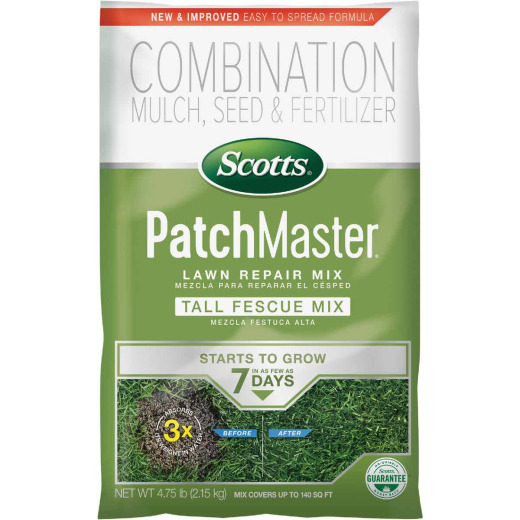 Scotts PatchMaster 4.75 Lb. 115 Sq. Ft. Coverage Fescue Grass Patch & Repair