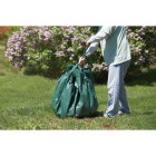 Do it Best  6 Ft. x 6 Ft. Poly Fabric Green Lawn Cleanup Tarp Image 3
