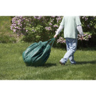 Do it Best  6 Ft. x 6 Ft. Poly Fabric Green Lawn Cleanup Tarp Image 4