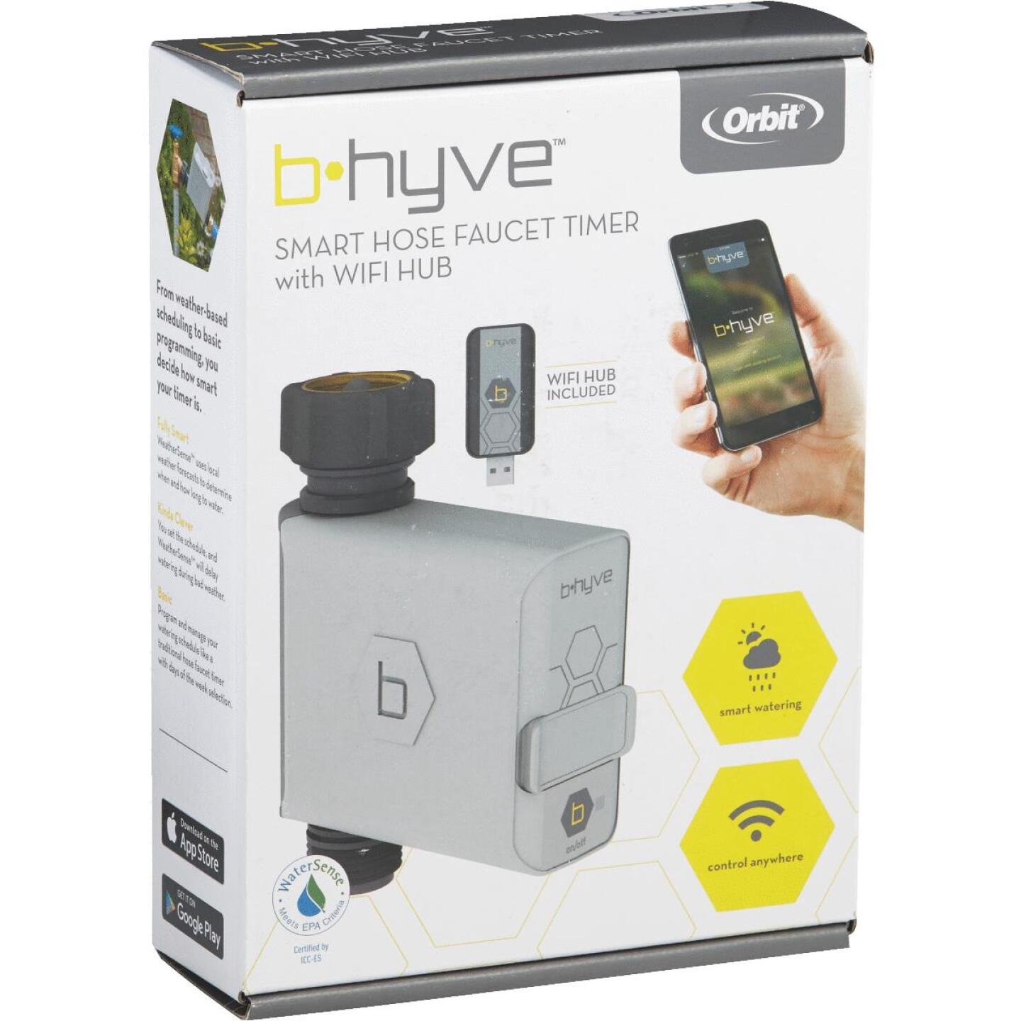 Orbit B-Hyve Electronic 1-Zone Water Timer Image 4