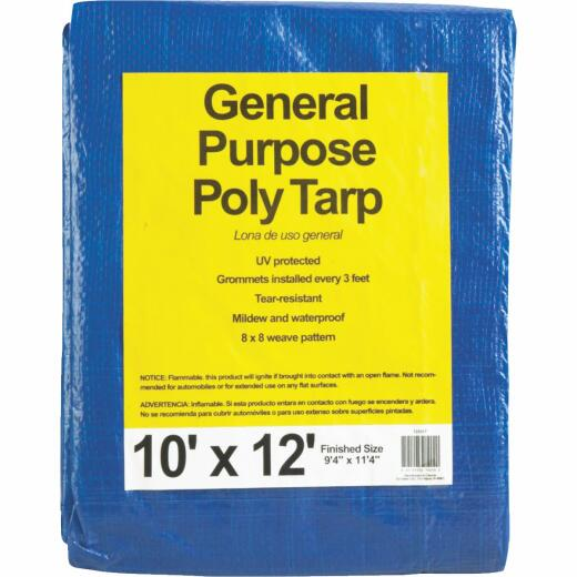 Do it Blue Woven 10 Ft. x 12 Ft. General Purpose Tarp