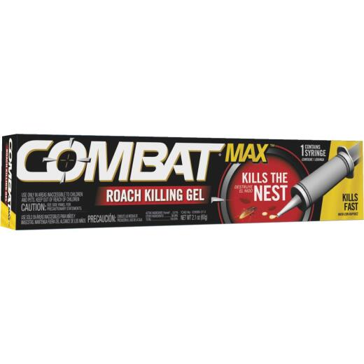 Combat Max 2.1 Oz. Ready To Use Gel Roach Killer