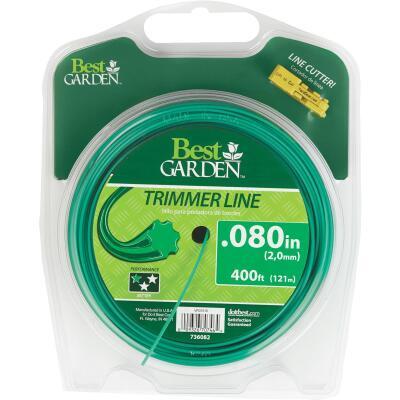 Best Garden 0.080 In. x 400 Ft. 7-Point Trimmer Line