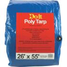Do it Blue Woven 26 Ft. x 55 Ft. Medium Duty Poly Tarp Image 1