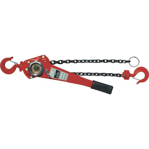 American Power Pull 3/4-Ton Load Capacity 5 Ft. Standard Lift Chain Puller
