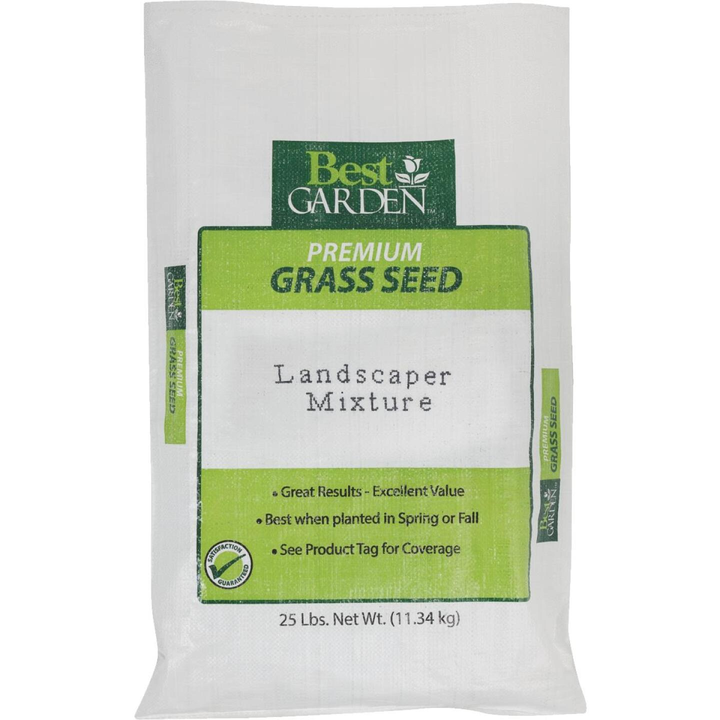 Best Garden 25 Lb. 3750 Sq. Ft. Coverage Sun to Partial Shade Grass Seed Image 1
