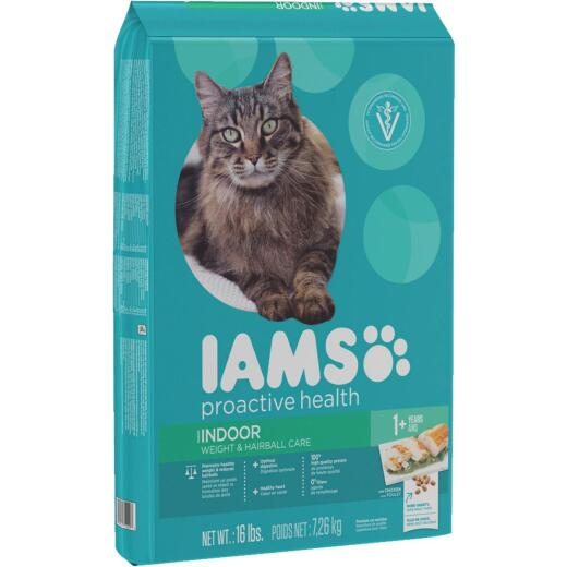 Iams Weight and Hairball Care 16 Lb. Adult Cat Food