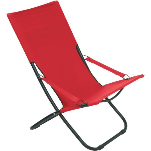 Pride Family Brands Folding Hammock Chair, Red