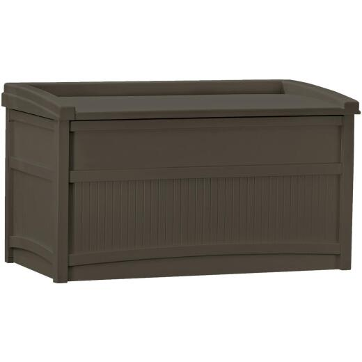 Suncast 50 Gal. Resin Java Deck Box with Seat