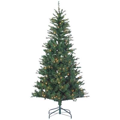 Sterling 6 Ft. Colorado Spruce 250-Bulb Clear Incandescent Prelit Artificial Christmas Tree