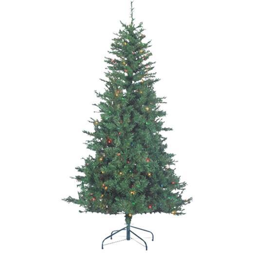 Sterling 6 Ft. Colorado Spruce 250-Bulb Multi Incandescent Prelit Artificial Christmas Tree