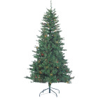 Sterling 6 Ft. Colorado Spruce 250-Bulb Multi Incandescent Prelit Artificial Christmas Tree Image 1
