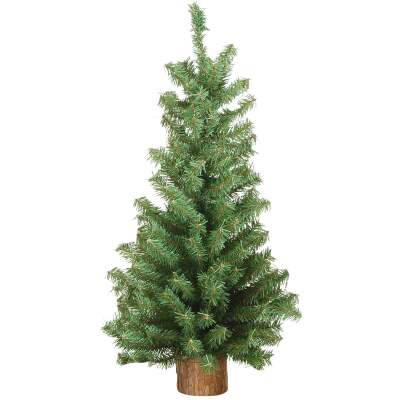 Sterling 24 In. Canadian Pine Unlit Artificial Christmas Tree