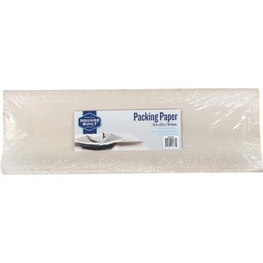 Square Built 24x24 Packing Paper (50 Sheets Per Pack)